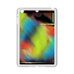 Punctulated Colorful Ground Noise Nervous Sorcery Sight Screen Pattern iPad Mini 2 Enamel Coated Cases