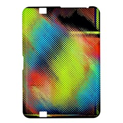 Punctulated Colorful Ground Noise Nervous Sorcery Sight Screen Pattern Kindle Fire HD 8.9