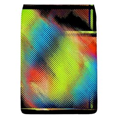 Punctulated Colorful Ground Noise Nervous Sorcery Sight Screen Pattern Flap Covers (l)