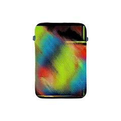 Punctulated Colorful Ground Noise Nervous Sorcery Sight Screen Pattern Apple iPad Mini Protective Soft Cases