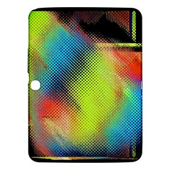 Punctulated Colorful Ground Noise Nervous Sorcery Sight Screen Pattern Samsung Galaxy Tab 3 (10.1 ) P5200 Hardshell Case