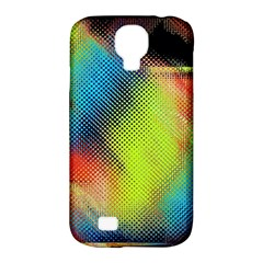 Punctulated Colorful Ground Noise Nervous Sorcery Sight Screen Pattern Samsung Galaxy S4 Classic Hardshell Case (pc+silicone)