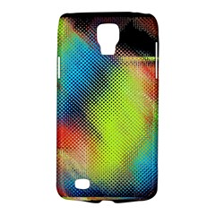 Punctulated Colorful Ground Noise Nervous Sorcery Sight Screen Pattern Galaxy S4 Active