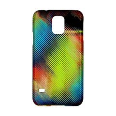 Punctulated Colorful Ground Noise Nervous Sorcery Sight Screen Pattern Samsung Galaxy S5 Hardshell Case