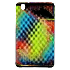 Punctulated Colorful Ground Noise Nervous Sorcery Sight Screen Pattern Samsung Galaxy Tab Pro 8.4 Hardshell Case