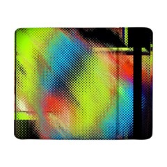 Punctulated Colorful Ground Noise Nervous Sorcery Sight Screen Pattern Samsung Galaxy Tab Pro 8.4  Flip Case