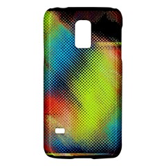 Punctulated Colorful Ground Noise Nervous Sorcery Sight Screen Pattern Galaxy S5 Mini