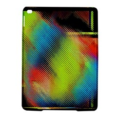 Punctulated Colorful Ground Noise Nervous Sorcery Sight Screen Pattern iPad Air 2 Hardshell Cases