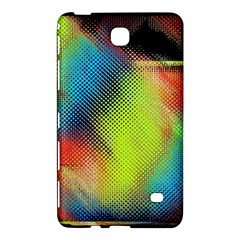 Punctulated Colorful Ground Noise Nervous Sorcery Sight Screen Pattern Samsung Galaxy Tab 4 (7 ) Hardshell Case