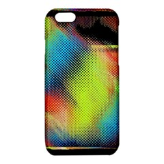 Punctulated Colorful Ground Noise Nervous Sorcery Sight Screen Pattern iPhone 6/6S TPU Case