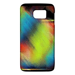 Punctulated Colorful Ground Noise Nervous Sorcery Sight Screen Pattern Galaxy S6
