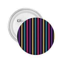 Stripes Colorful Multi Colored Bright Stripes Wallpaper Background Pattern 2.25  Buttons