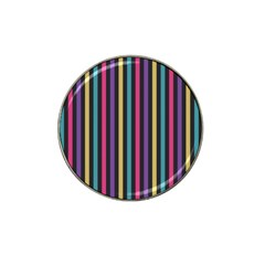 Stripes Colorful Multi Colored Bright Stripes Wallpaper Background Pattern Hat Clip Ball Marker
