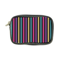 Stripes Colorful Multi Colored Bright Stripes Wallpaper Background Pattern Coin Purse