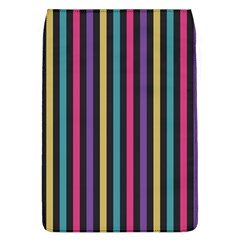 Stripes Colorful Multi Colored Bright Stripes Wallpaper Background Pattern Flap Covers (L)