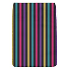 Stripes Colorful Multi Colored Bright Stripes Wallpaper Background Pattern Flap Covers (s)