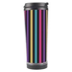 Stripes Colorful Multi Colored Bright Stripes Wallpaper Background Pattern Travel Tumbler