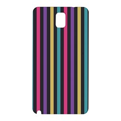 Stripes Colorful Multi Colored Bright Stripes Wallpaper Background Pattern Samsung Galaxy Note 3 N9005 Hardshell Back Case