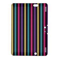 Stripes Colorful Multi Colored Bright Stripes Wallpaper Background Pattern Kindle Fire HDX 8.9  Hardshell Case