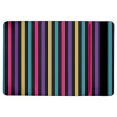 Stripes Colorful Multi Colored Bright Stripes Wallpaper Background Pattern iPad Air 2 Flip