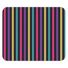 Stripes Colorful Multi Colored Bright Stripes Wallpaper Background Pattern Double Sided Flano Blanket (small)