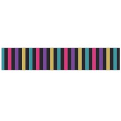 Stripes Colorful Multi Colored Bright Stripes Wallpaper Background Pattern Flano Scarf (Large)