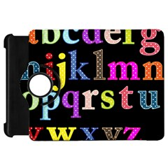 Alphabet Letters Colorful Polka Dots Letters In Lower Case Kindle Fire HD 7