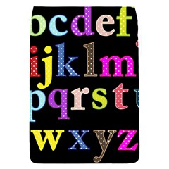 Alphabet Letters Colorful Polka Dots Letters In Lower Case Flap Covers (S)