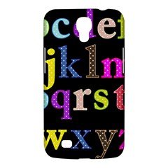 Alphabet Letters Colorful Polka Dots Letters In Lower Case Samsung Galaxy Mega 6.3  I9200 Hardshell Case