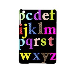 Alphabet Letters Colorful Polka Dots Letters In Lower Case Ipad Mini 2 Hardshell Cases