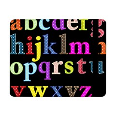 Alphabet Letters Colorful Polka Dots Letters In Lower Case Samsung Galaxy Tab Pro 8 4  Flip Case