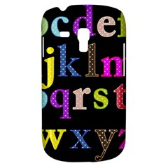 Alphabet Letters Colorful Polka Dots Letters In Lower Case Galaxy S3 Mini