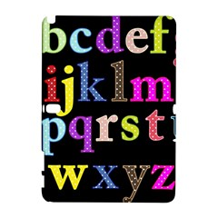 Alphabet Letters Colorful Polka Dots Letters In Lower Case Galaxy Note 1