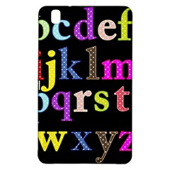 Alphabet Letters Colorful Polka Dots Letters In Lower Case Samsung Galaxy Tab Pro 8.4 Hardshell Case
