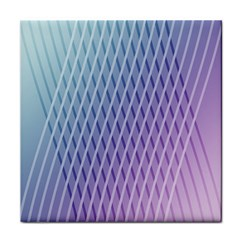 Abstract Lines Background Tile Coasters