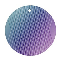 Abstract Lines Background Ornament (round)
