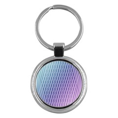 Abstract Lines Background Key Chains (round)