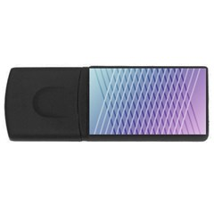 Abstract Lines Background USB Flash Drive Rectangular (1 GB)