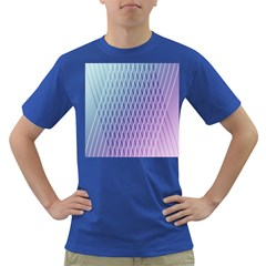 Abstract Lines Background Dark T Shirt