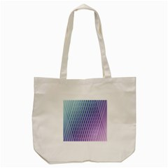 Abstract Lines Background Tote Bag (cream)
