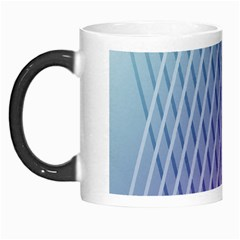 Abstract Lines Background Morph Mugs