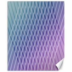 Abstract Lines Background Canvas 16  X 20