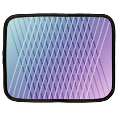 Abstract Lines Background Netbook Case (large)