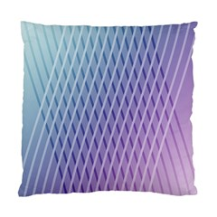 Abstract Lines Background Standard Cushion Case (one Side)