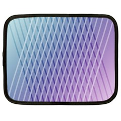 Abstract Lines Background Netbook Case (xxl)
