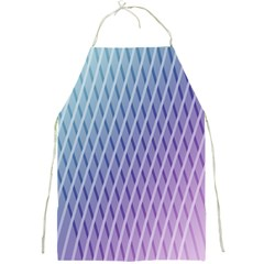 Abstract Lines Background Full Print Aprons