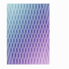 Abstract Lines Background Large Garden Flag (Two Sides)