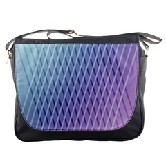 Abstract Lines Background Messenger Bags