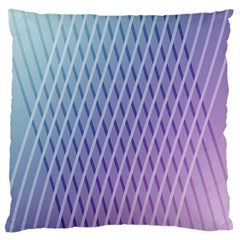 Abstract Lines Background Large Cushion Case (Two Sides)
