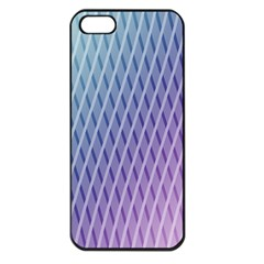 Abstract Lines Background Apple iPhone 5 Seamless Case (Black)